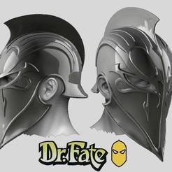 Screen Shot 2020-09-04 at 4.55.48 pm.jpg Télécharger fichier OBJ L'univers de DC - Dr Fate Helmet - Cosplay Fan Art • Design pour imprimante 3D, 3DCraftsman