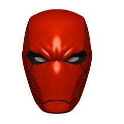 BPR_Composite.jpg Download OBJ file The Red Hood Mask Helmet STL • 3D printing template, 3DCraftsman