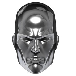 BPR_Composite.jpg Download OBJ file Silver Surfer cosplay mask helmet and display piece • 3D printing object, 3DCraftsman