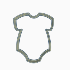enter.png Télécharger fichier STL coupe-bébé entier • Objet pour impression 3D, 3dcookiecutter