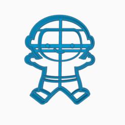 astron.png Télécharger fichier STL astronaute à l'emporte-pièce • Modèle pour imprimante 3D, 3dcookiecutter