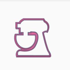 batidora.png Télécharger fichier STL mélangeur • Design à imprimer en 3D, 3dcookiecutter