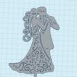 toppercasamiento5.png Télécharger fichier STL le mariage à l'honneur • Objet pour impression 3D, 3dcookiecutter