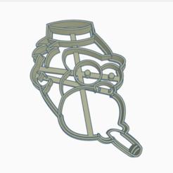 monosimpson.png Download STL file simpson monkey • 3D printable design, 3dcookiecutter