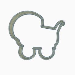 cochec.png Télécharger fichier STL porte-bébé à l'emporte-pièce • Objet imprimable en 3D, 3dcookiecutter
