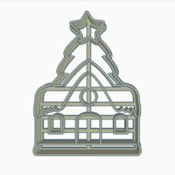 casitanavideña.png Download STL file cookie-cutter Christmas house • 3D printer object, 3dcookiecutter