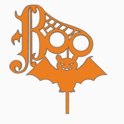 halloweentopper2.png Download STL file halloween topper • 3D printing object, 3dcookiecutter