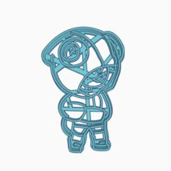 browlstar3.png Download STL file lion browl stars cutter • 3D print model, 3dcookiecutter