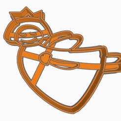 hada.png Télécharger fichier STL fée/princesse à l'emporte-pièce • Objet pour imprimante 3D, 3dcookiecutter