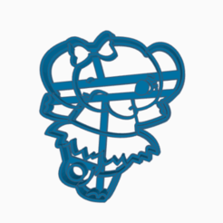 elefantita.png Download STL file cookie-cutter elephant • 3D printable model, 3dcookiecutter