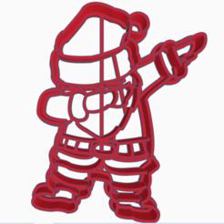 santaclaus.png Download STL file santa claus cortante • Object to 3D print, 3dcookiecutter