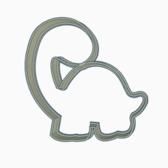 dinodino.png Télécharger fichier STL dinosaure à l'emporte-pièce • Design pour imprimante 3D, 3dcookiecutter