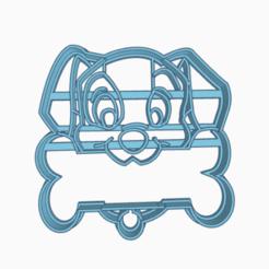 perritohueso.png Télécharger fichier STL dalmata cookie cutter • Design pour imprimante 3D, 3dcookiecutter