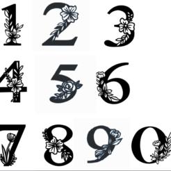 numeros.png Télécharger fichier STL les chiffres les plus importants • Design à imprimer en 3D, 3dcookiecutter