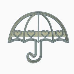 paraguas.png Télécharger fichier STL parapluie à l'emporte-pièce • Objet imprimable en 3D, 3dcookiecutter