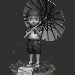 Sin título.jpg Download STL file Setsuko from the grave of the fireflies • Object to 3D print, DLART91