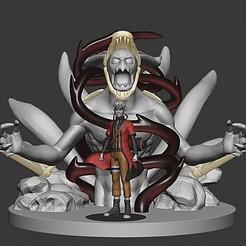 naruto1.jpg Télécharger fichier STL Naruto et kurama 20cm • Design pour imprimante 3D, DLART91