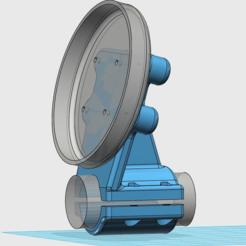 Download free 3D printer designs Velocitek Speedpuck Mount for Gennaker Pole, flyinggorilla