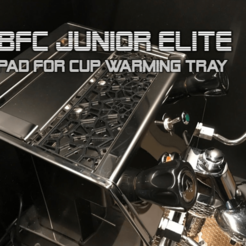 Download free 3D model BFC Junior Elite - pad for cupwarmer tray, flyinggorilla