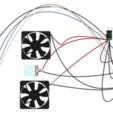 Esp32MiniFridge_Fritzing.png Download free STL file MiniFridge - WiFi 12V ESP32 • 3D printable design, flyinggorilla