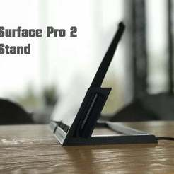 Download free 3D printer files Surface Pro 2 Stand, flyinggorilla