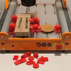 20200318_221351662_iOS.jpg Download free STL file Stepcraft / CNC stock fixture claws • 3D print model, flyinggorilla