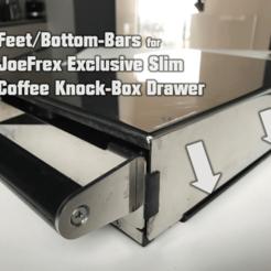 JoeFrexDrawer.png Télécharger fichier STL gratuit Pieds en caoutchouc pour le tiroir Exklusiv Slim de JoeFrex • Modèle imprimable en 3D, flyinggorilla