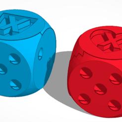 Télécharger fichier impression 3D gratuit Dés 5 vies, SVdesigns-3D