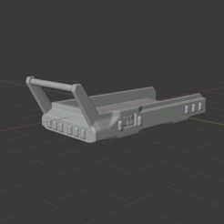 Handcart.png Download free STL file Sci-Fi Miniature - Hover Hand Cart • 3D printable model, LoreChest