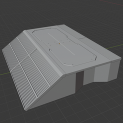 Download free 3D printer files Sci-Fi Miniature Terrain - Industrial Cargo Ramp, LoreChest