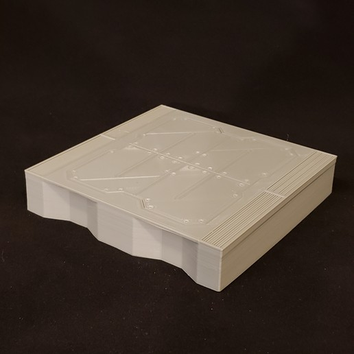 20200916_191907.jpg Download free STL file Sci-Fi Miniature Terrain - Industrial Raised Platform, Low • 3D print design, LoreChest