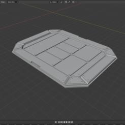 ScifiPad.png Télécharger fichier STL gratuit Terrain miniature de science-fiction - Plancher de la plate-forme de chargement industrielle • Design imprimable en 3D, LoreChest