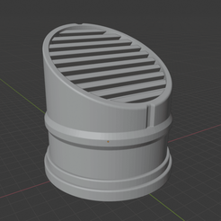 VentConcept.png Download free STL file Sci-fi Miniature Terrain - Scalable Vent • 3D print object, LoreChest