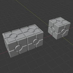 2 crates.png Download free STL file Sci-Fi Miniature Scatter Terrain - Storage Crates • 3D printing template, LoreChest