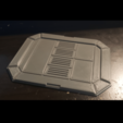 ScifiPadPrint.png Download free STL file Sci-fi Miniature Terrain - Industrial Cargo Pad Floor • 3D printable template, LoreChest