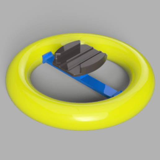 FloatMount_SonyAC.png Download free STL file Floating Mount for Sony Action Cam • 3D printing model, frostprinting