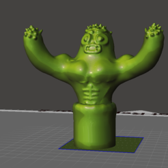 Download free 3D printing models Buff Cactus, ozammo13