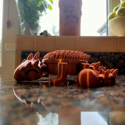 IMG20201228135149.jpg Download STL file Tankosaurus (Articulated Dinosaur) • Model to 3D print, ozammo13