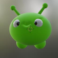 mooncake.PNG Download free STL file Mooncake - Final Space • 3D printer object, ozammo13