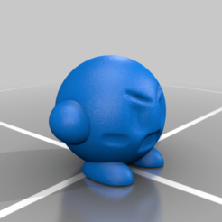 AngryKirby.png Télécharger fichier STL gratuit Kirby en colère • Design pour impression 3D, ozammo13