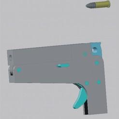 TH-M1 armada.jpg Télécharger fichier STL TH-M1 - Mini-pistolet .22 • Design pour impression 3D, TH-GunSTL