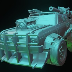 Télécharger plan imprimante 3D Dragster, BulwarkGaming