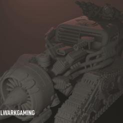 Télécharger plan imprimante 3D Jet traqué, BulwarkGaming