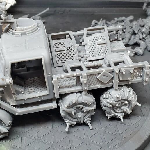 Download STL file The Humble Truck  • 3D printer template, BulwarkGaming
