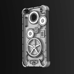 Captura de pantalla 2020-12-05 195910.png Download STL file IPHONE 6 CASE (MECHANICAL) • 3D print object, gabogarcia224