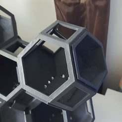 Download free 3D printing templates Plantygon Hex Insert, willtree8
