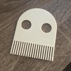 photo_2020-08-18_14-40-54.jpg Download free STL file Ghost comb • 3D printer design, cvxz