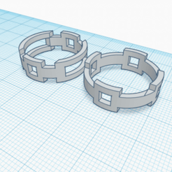 AN2 7 Y 8 (3).png Download free STL file Unisex ring, model AN2 7 and 8 • Model to 3D print, Estairco