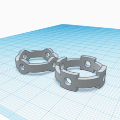 AN2 5 y 6.png Download free STL file Unisex ring, model AN2 5 and 6 • 3D print model, Estairco