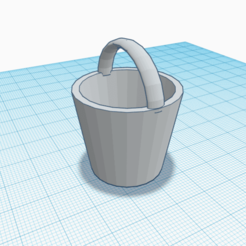 balde.png Download free STL file Single Bucket Version 1.0 • 3D printing object, Estairco